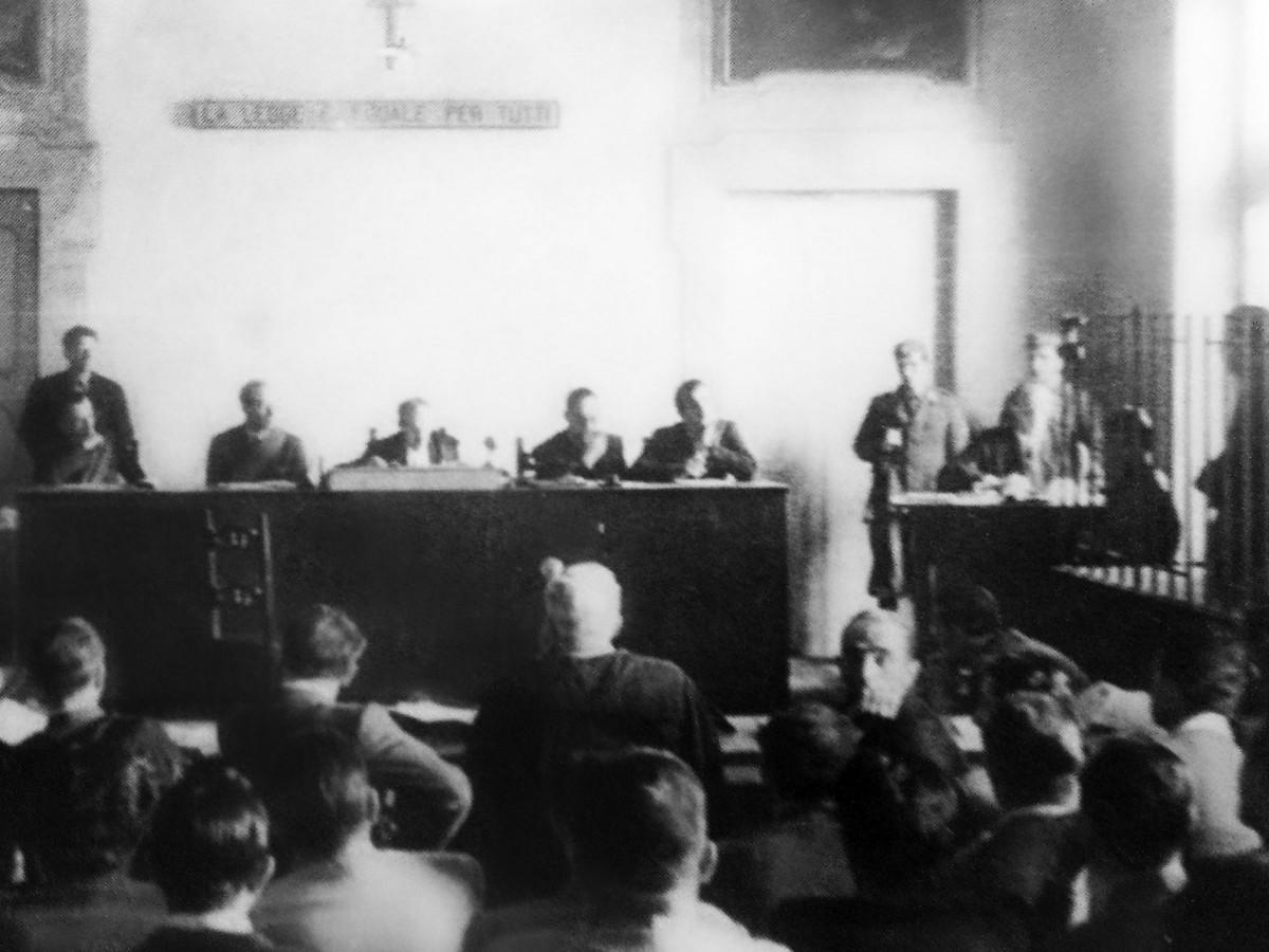 La Corte di assise straordinaria di Ferrara